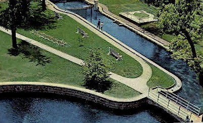 Big Spring - Huntsville, Alabama AL Postcard