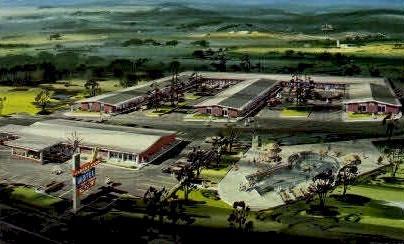 Albert Pick Motel - Huntsville, Alabama AL Postcard