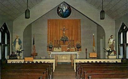 Holy Family Church - Lanett, Alabama AL Postcard