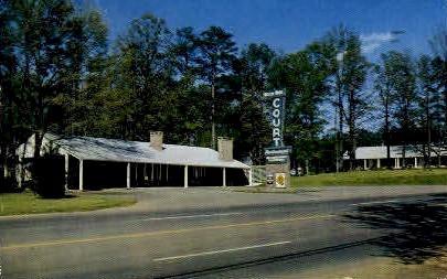 Moon Winx Court - Tuscaloosa, Alabama AL Postcard