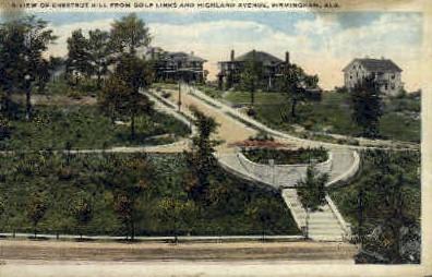 Chestnut Hill - Birmingham, Alabama AL Postcard