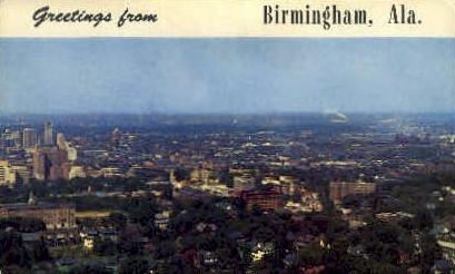 Industrial Center - Birmingham, Alabama AL Postcard