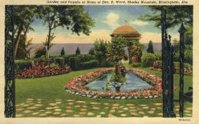 Geo B. Ward Home - Birmingham, Alabama AL Postcard