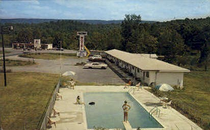Freeway Motel - Valley Head, Alabama AL Postcard