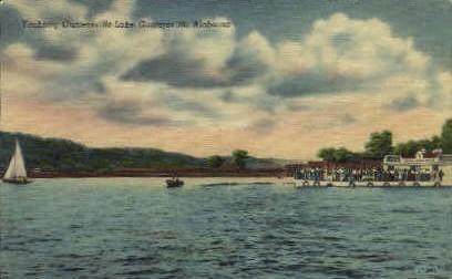 Guntersville Lake - Alabama AL Postcard