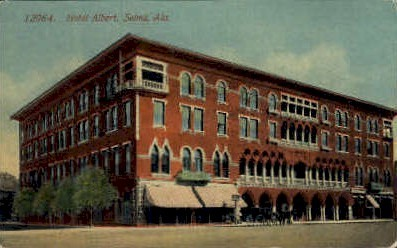 Hotel Albert - Selma, Alabama AL Postcard