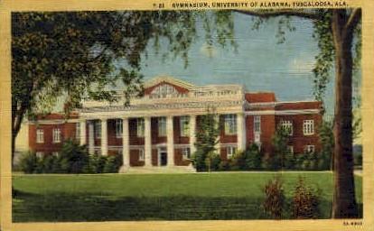 University of Alabama - Tuscaloosa Postcard