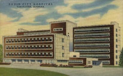 Druid City Hospital - Tuscaloosa, Alabama AL Postcard