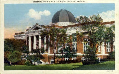 Tuskegee Institute - Alabama AL Postcard