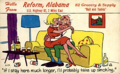 82 Crocery and Supply - Reform, Alabama AL Postcard