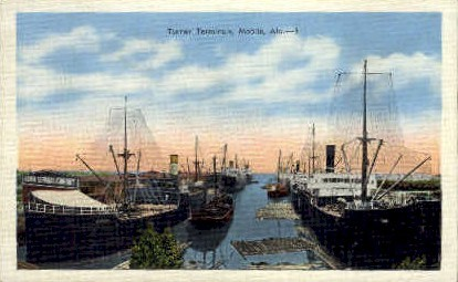 Turner Terminals - Mobile, Alabama AL Postcard