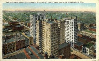 Jefferson County Bank Building - Birmingham, Alabama AL Postcard