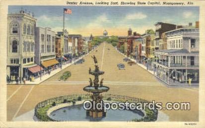 Dexter Ave. State Capitol - Montgomery, Alabama AL Postcard
