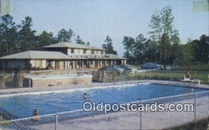 Spanish Ranch Motel - Mobile, Alabama AL Postcard