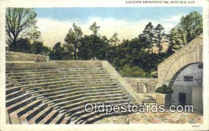 Gadsden Amphitheatre - Alabama AL Postcard