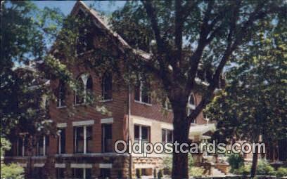 Monastery, St Bernard Abbey & College - Alabama AL Postcard