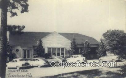 Real Photo - Country Club - Tuscaloosa, Alabama AL Postcard