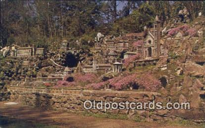 Roman Group, Ave Maria Grotto - St Bernard, Alabama AL Postcard