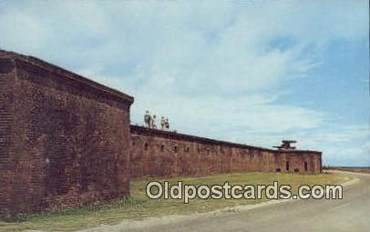Fort Gaines - Dauphin Island, Alabama AL Postcard