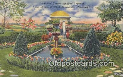 Vestavia, Home of Geo B Ward - Birmingham, Alabama AL Postcard