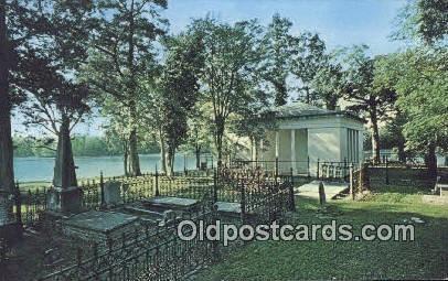 Historic Glover Mausoleum - Demopolis, Alabama AL Postcard