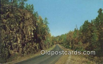 The Narrows, Sylacauga - Birmingham, Alabama AL Postcard
