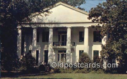 Magnolia Grove - Greensboro, Alabama AL Postcard