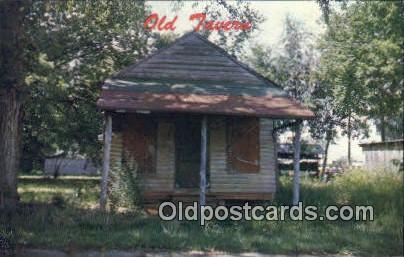 Old Tavern - Mooresville, Alabama AL Postcard