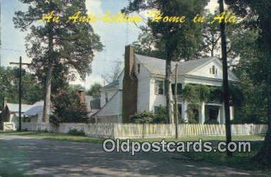 Residence of Mrs. J. G. Hill - Mooresville, Alabama AL Postcard