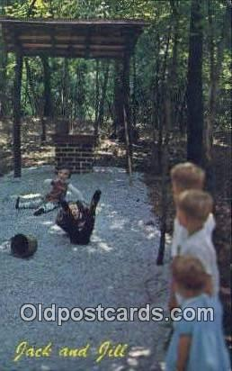 Muscle Shoals Deer Forest - Muscle Shoals City, Alabama AL Postcard