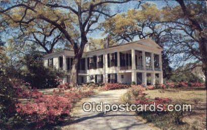 Oakleigh - Mobile, Alabama AL Postcard