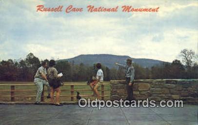 Russell Cave National Monument - Bridgeport, Alabama AL Postcard