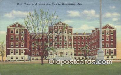 Veterans Admin Facility - Montgomery, Alabama AL Postcard