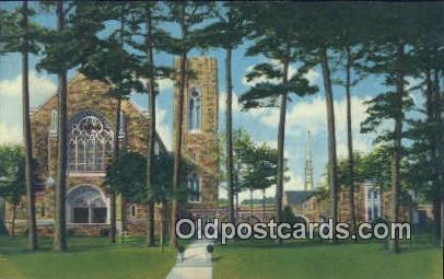 Cathedral, First Methodist Church - Montgomery, Alabama AL Postcard