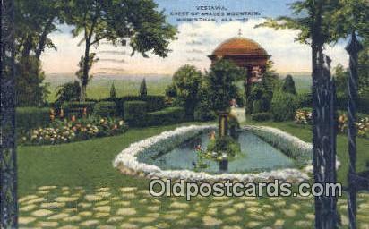 Vestavia, Shades Mountain - Birmingham, Alabama AL Postcard