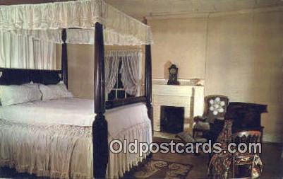 Plantation Bedroom - Birmingham, Alabama AL Postcard
