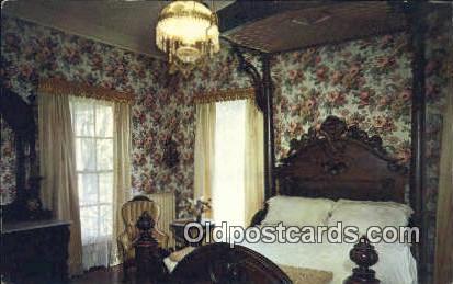 Bedroom, Arlington Shrine - Birmingham, Alabama AL Postcard