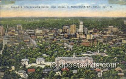 Ramsey High School - Birmingham, Alabama AL Postcard