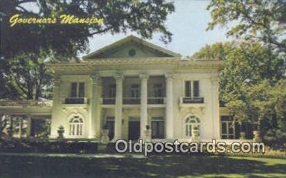 Governor's Mansion - Montgomery, Alabama AL Postcard