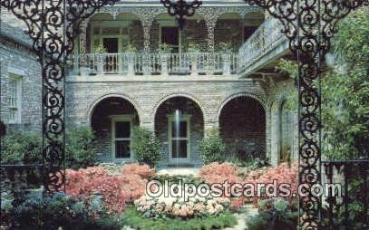Bellingrath Home, Gardens - Mobile, Alabama AL Postcard
