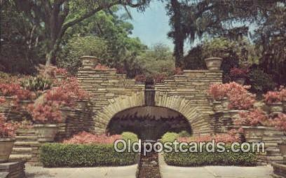 Grotto, Bellingrath Gardens - Mobile, Alabama AL Postcard