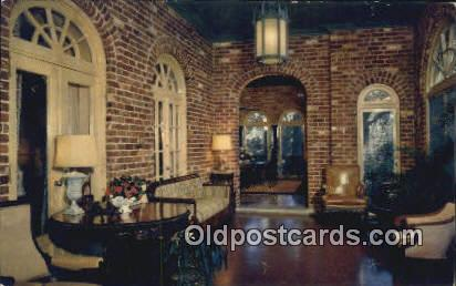 East Porch, Bellingrath Garden - Mobile, Alabama AL Postcard