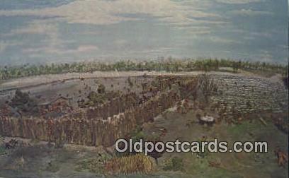 Alabama Historama, Battleship Parkway - Mobile Postcard