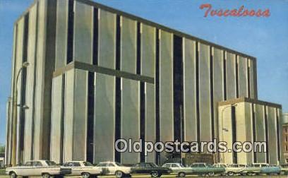 Tuscaloosa County Courthouse - Tuscumbia, Alabama AL Postcard