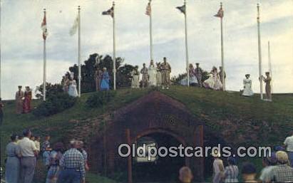 Fort Morgan, AL     ;     Fort Morgan, Alabama Postcard