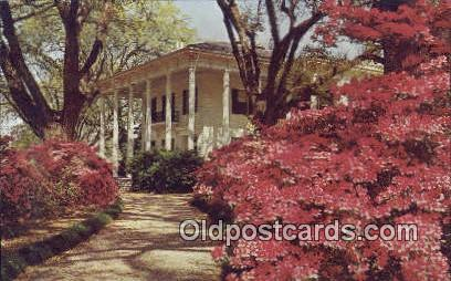 Mitchell Home - Mobile, Alabama AL Postcard