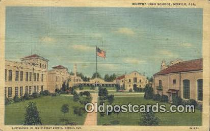 Murphy High School - Mobile, Alabama AL Postcard