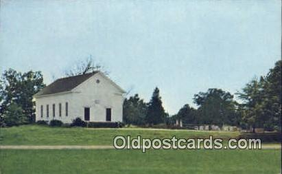 Havana Methodist Church - Moundville, Alabama AL Postcard
