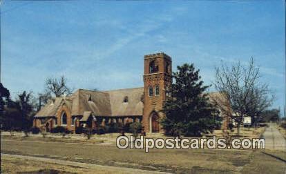 Trinity Parish - Demopolis, Alabama AL Postcard