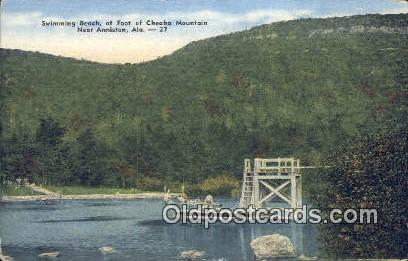 Cheaha Mountain - Anniston, Alabama AL Postcard